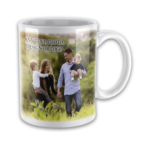Personalised Any Text / Image Novelty Gift Mug